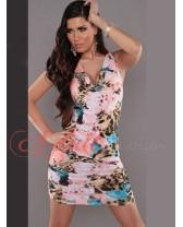Svůdné květinové šaty Irin