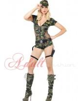 Army sexy kostým Nikita