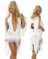 Kvalitní kostým AF anděl white